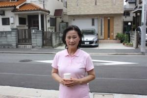 台湾人松山さんも中津川前議員、石井候補予定者の応援団のひとり
