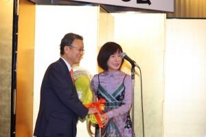 埼玉台湾総会林月理会長