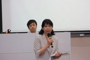 日本台湾教育センター郭艶娜日本事務所主任