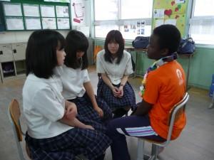 教室交流風景