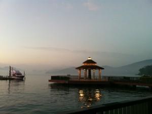 台湾有数の景勝地、日月潭も南投に位置している