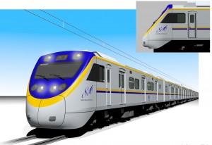 EMU800形電車外観(台湾鉄路管理局提供)