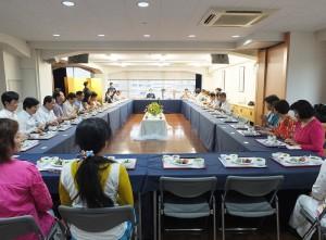 慈濟日本分會首次邀請在日僑領和台灣企業,參加分享會,盼更多人可以加入一起行善的行列