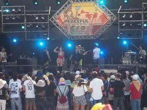 熱力四射的搖滾音樂祭會場