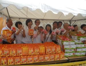 台南市議會專程到日本行銷台南芒果
