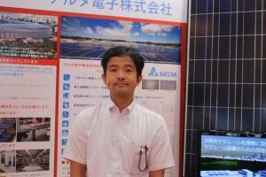 デルタ電子の田中誠二第3営業本部ソーラーソリューション部担当マネージャー