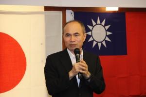 台北駐日経済文化代表処余吉政副代表