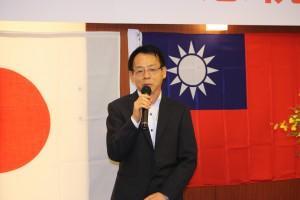 台北駐日経済文化代表処張燈城領事部部長