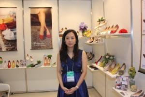 滿慶股份有限公司のSamantha Chenさん