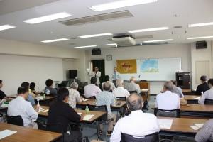 日本李登輝友の会主催の「第9回台湾セミナー」