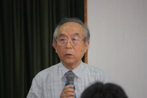常務理事石川公彦さん(高座日台交流の会会長)