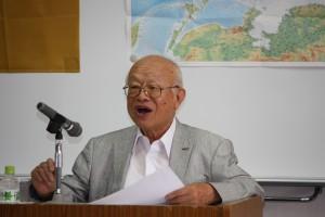 李登輝友の会理事でもある呉正男さん(横浜台湾同郷会最高顧問)