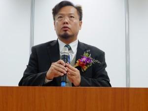 教育部国際及両岸教育司盧雲賓課長