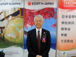 日本学生支援機構の米川英樹理事