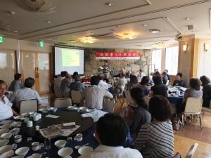 與會者專新聆聽總幹事黃國光報告核四調查報告