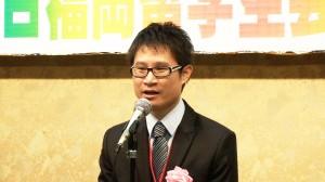 台湾在日福岡留学生会林尚霖会長