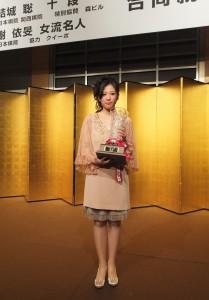 6度蟬聯女流名人頭銜的謝依旻,希望日後在國際賽中也有不錯的表現