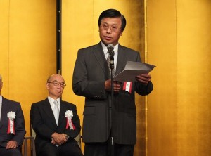 駐日代表處副代表陳調和表示謝依旻是台日緊密交流的象徵之一