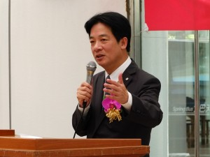 台南市頼清徳市長(資料写真)