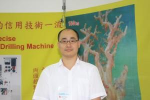 克震有限公司の李東憲さん