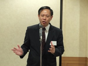 剛到任的駐日副代表徐瑞湖表示身為客家人,很高興將到任後第一場出席活動獻給日本國際客家文化協會