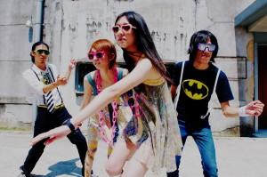台灣電音樂團「不熟的朋友派對」進軍日本市場/ロックとテクノミュージックバンドUFPは台湾で独特のパフォーマンスが注目を集め