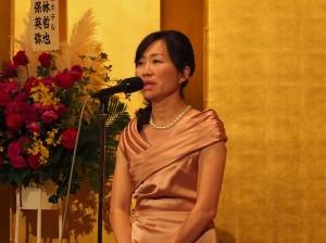 東京媽祖廟代表連昭惠盼東京媽祖廟落成後,能減少日本地區的災難
