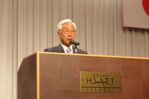 九州経済フォーラム石原進会長