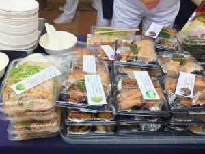 慈濟準備豐富的素食料理