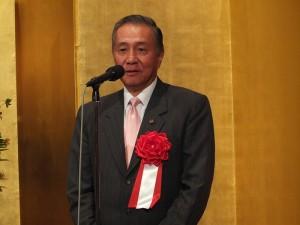 前駐日代表馮寄台亦上台祝賀東京媽祖廟落成