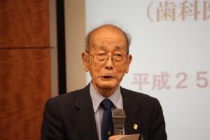 東京台湾の会喜久四郎会長