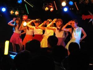 準優勝したChu-Z(ライブステージ 6人)