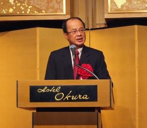 駐日代表沈斯淳表示台日關係正如總統馬英九所言,是特殊夥伴關係