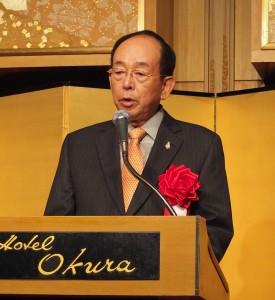 東亞經濟人會議日本委員會委員長槍田松瑩