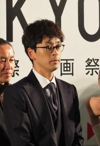 因為日劇《半澤直樹》在台灣人氣直升的日星瀧藤賢一(左),表示想去台灣走走
