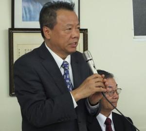 1駐日代表處僑務組組長趙雲華表示儘管人力吃緊,仍會盡全力服務僑民