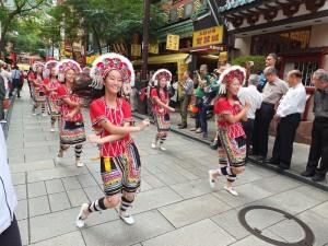 台灣原住民舞蹈展現台灣活力