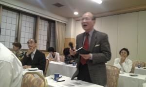 研修會上,劉得寬教授亦針對教育問題提問