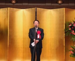 東京媽祖廟董事長詹德薰希望2020年以前,將媽祖廟前的街道打造成媽祖街