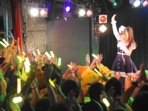 優勝した柊木りお(ライブステージ