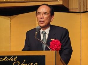 日本交流協會會長大橋光夫表示,漁業協議的簽定,可以算是台日交流歷史上的創舉