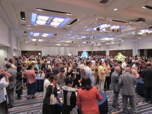 國慶酒會現場擠進500多位賓客