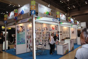 台湾企業ブース