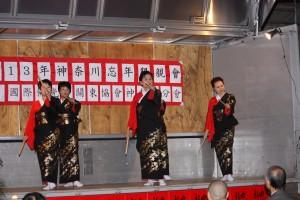 東京協会会員の皆さんによる日本舞踊
