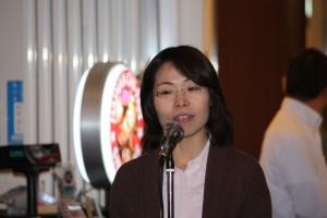 台北駐日経済文化代表処僑務組宋恵芸秘書