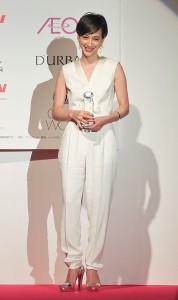 女主播瀧川克里斯汀表示自己偏愛中性造型