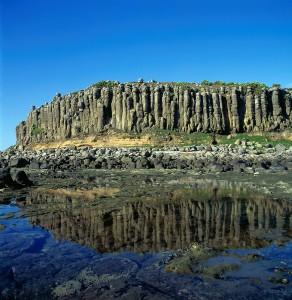 澎湖玄武岩自然保護區(照片提供:從日本聲援台灣申請世界遺產協會)