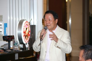 中締めは日本中華聯合總會詹徳薫名誉会長だった