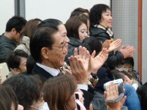 理事長羅辰雄到場觀賞