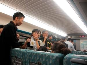 台湾高鉄車内